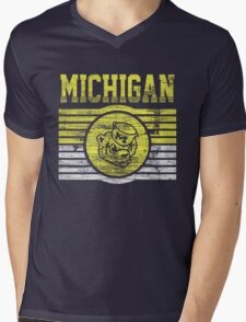 Darren Criss Fox Campaign: Michigan Wolverines Mens V-Neck T-Shirt