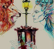 The Lion The Witch And The Wardrobe by EllieKD