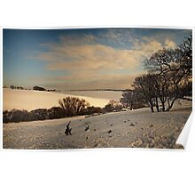 Only a Winters Day Poster