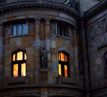 Warm window light in Prague by polanri