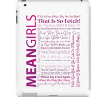 Mean Girls Best Quotes iPad Case/Skin