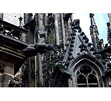 St. Vitus cathedral in Prague Photographic Print