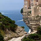 The cliff at Bonifacio by polanri