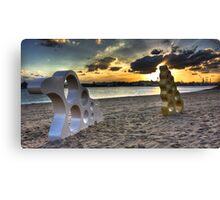 Bizzare Beach Canvas Print