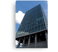 Office tower in Brussels Canvas Print