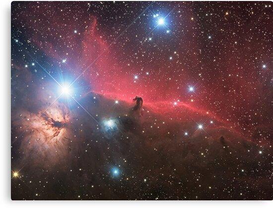 Horsehead Nebula by Phil Hart