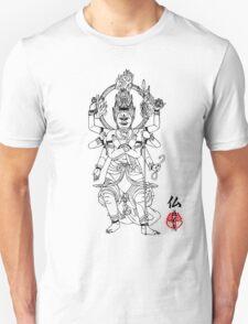 Warrior Buddha Unisex T-Shirt