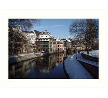Strasbourg, tanners district Art Print