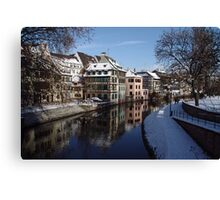 Strasbourg, tanners district Canvas Print