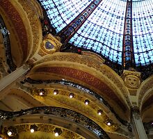 Galeries Lafayette, balconies by polanri