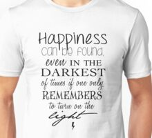 Albus Dumbledore Quote - Harry Potter Unisex T-Shirt