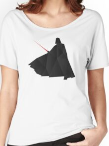 Star Wars:Darth Vader Origami   Women's Relaxed Fit T-Shirt