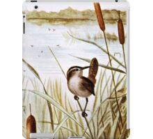 Long Billed Marsh Wren iPad Case/Skin