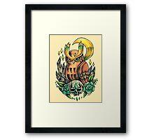Noctowl  Framed Print