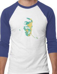 Georges Brassens Men's Baseball ¾ T-Shirt