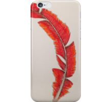Red Feather iPhone Case/Skin