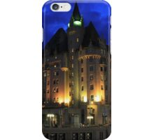 Chateau Laurier iPhone Case/Skin
