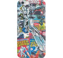 Vintage Comic Silver Surfer iPhone Case/Skin