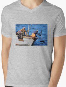 Men at Work Mens V-Neck T-Shirt
