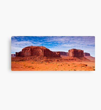 Monument Valley Rocks Canvas Print