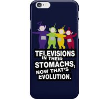 Now THAT'S evolution iPhone Case/Skin