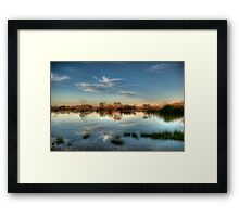 Muloorina  Water Hole Framed Print