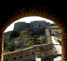 Palamidi fortification by Christopher Biggs