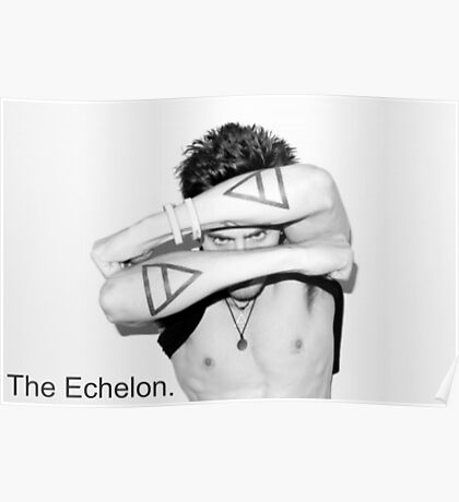 Jared Leto (30STM) - The Echelon Tattoo Poster