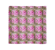 Pink Flowers Scarf