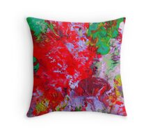 red-y or not... Throw Pillow