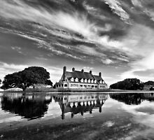 Whalehead Hunt Club - My Interpretation by Michael  Bermingham