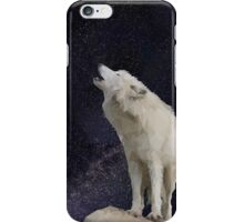 Wolf & Stars Lowpoly iPhone Case/Skin
