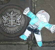 Flat Stanley visits London by Allen Lucas