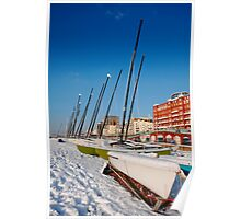 Snowy seafront II Poster