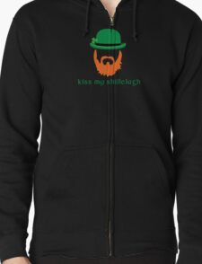 Irish Humor Kiss My Shillelagh T-Shirt