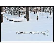 Natures mattress pad Photographic Print