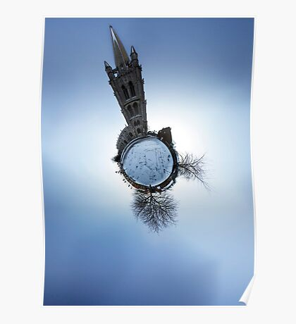 St James Church Louth - Little Planet Poster