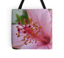 Pink Flower (Extreme Close-Up) Tote Bag