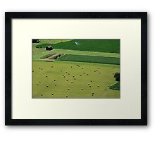 Open Fields Framed Print