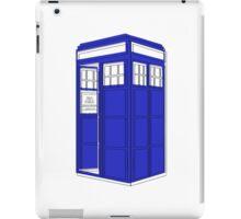 Minimalist TARDIS iPad Case/Skin
