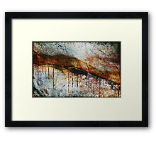 Blood from a Stone Framed Print