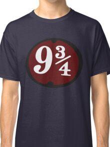 Harry Potter: Platform 9 3/4 Classic T-Shirt