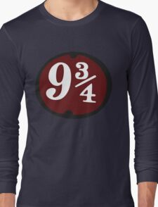 Harry Potter: Platform 9 3/4 Long Sleeve T-Shirt