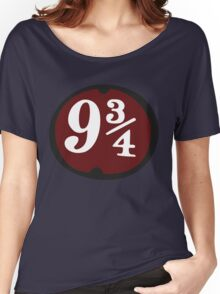 Harry Potter: Platform 9 3/4 Women's Relaxed Fit T-Shirt