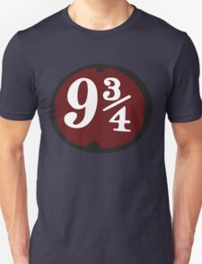 Harry Potter: Platform 9 3/4 Unisex T-Shirt