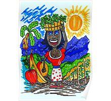 California's Harvest Bounty Poster
