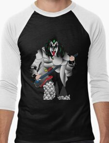 kiss Men's Baseball ¾ T-Shirt