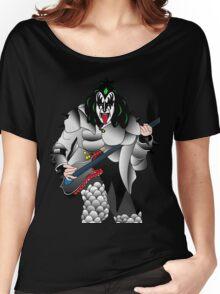 kiss Women's Relaxed Fit T-Shirt