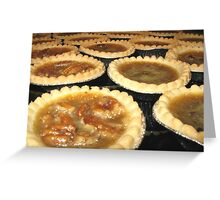 Tempting Tarts Greeting Card