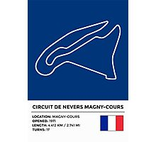 Circuit de Nevers Magny-Cours - v2 Photographic Print